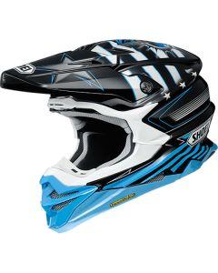 Shoei VFX-WR Grant 3 TC-2 Blue/Black Helmet