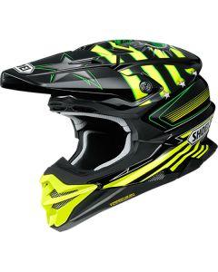 Shoei VFX-WR Grant 3 TC-3 Yellow/Black Helmet