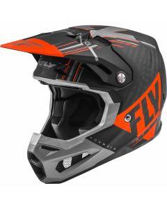 Fly Racing 2020 Formula Vector Matte Orange/ Grey/ Black Helmet