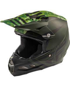 Fly Racing 2020 F-2 Granite Mips Green/ Black Helmet