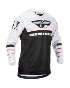 Fly Racing 2020 Kinetic K120 Black/white/red Jersey