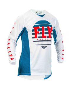 Fly Racing 2020 Kinetic K220 Blue/ White/ Red Jersey
