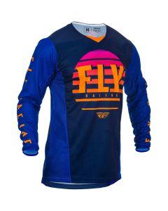 Fly Racing 2020 Kinetic K220 Midnight/ Blue/ Orange Jersey