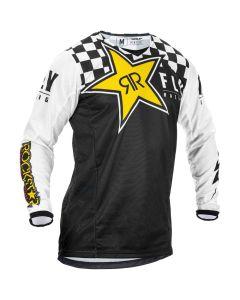 Fly Racing 2020 Kinetic Rockstar Black/white Jersey