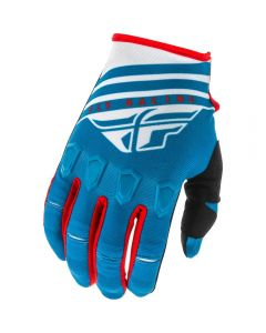 Fly Racing 2020 Kinetic K120 Blue/ White/ Red Gloves