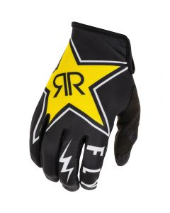Fly Racing 2020 Kinetic Rockstar Black/ White Gloves
