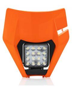 Acerbis Headlight VSL KTM EXC EXCF 17-19 Orange