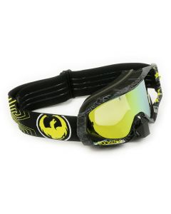 Dragon - Vendetta Rockstar Black/Gold Goggles