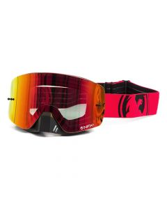 NFXS Red/Black Split - Red Ion Goggles