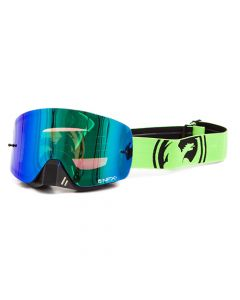 NFXS Green/Black Split - Green Ion Goggles