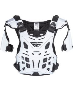 Fly Racing Revel White Offroad Roost Guard