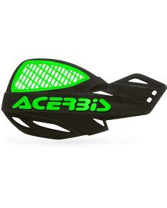 Acerbis Uniko Vented Handguards - Black /Green