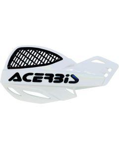 Acerbis Uniko Vented Handguards - White /Black