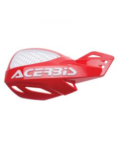 Acerbis Uniko Vented Handguards - Red /White