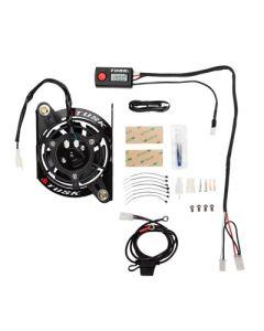 Tusk Digital Radiator Fan Kit - KTM Husqvarna 250 /300 /350 /501 08-16