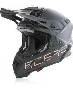 Acerbis Steel Carbon Helmet - 940g Black