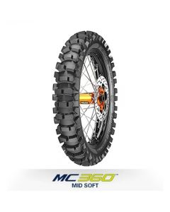 Metzeler Mc 360 120/80-19 64M Mid Soft Rear Tyre