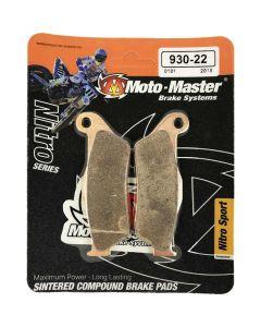 Moto-Master KTM /Husaberg /Husqvarna Nitro Sport Front Brake Pads