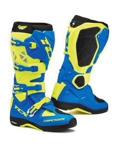 TCX 2017 Comp Evo Michelin Royal Blue/ Yellow Boots