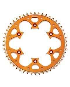 Talon KTM/Husaberg Orange Alloy Rear Sprocket 50 Tooth