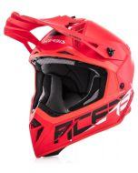 Acerbis Steel Carbon Helmet - 940g Red