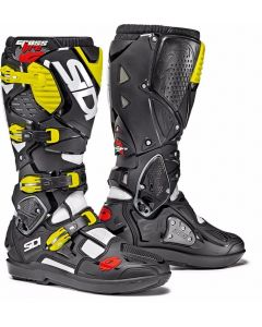 Sidi Crossfire 3 Srs White/Black Yellow Boots