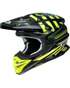 Shoei VFX-WR Grant 3 TC-3 Yellow/Black Helmet