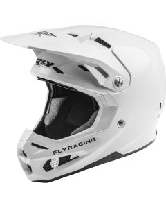 Fly Racing 2020 Formula Solid White Helmet