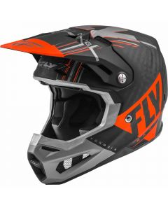 Fly Racing 2020 Formula Vector Matte Orange/ Grey/ Black Helmet