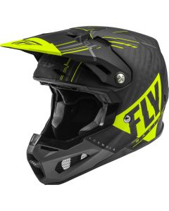 Fly Racing 2020 Formula Vector Matte Hi-vis/ Grey/ Black Helmet