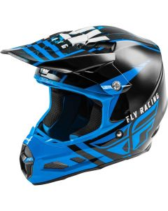 Fly Racing 2020 F-2 Granite Mips Blue/ Black/ White Helmet