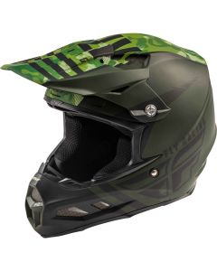 Fly Racing 2020 F-2 Granite Mips Green/ Black Helmet