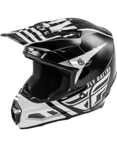 Fly Racing 2020 F-2 Granite Mips White/ Black/ Grey Helmet