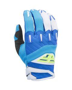 Fly Racing Blue Hi Viz 2017 F-16 MX Gloves