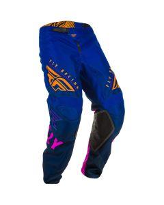 Fly Racing 2020 Kinetic K220 Midnight/ Blue/ Orange Pants