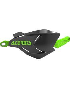 Acerbis X-Factory Black /Green Hand Guards