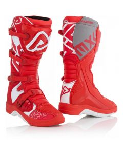 Acerbis X-Team White/ Red Boots