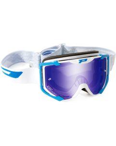 Progrip 3404 Menace White/Blue Goggles