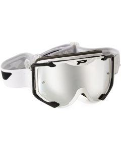 Progrip 3404 Menace White/Silver Goggles