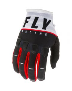 Fly Racing 2020 Kinetic K120 Black/ White/ Red Gloves