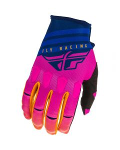 Fly Racing 2020 Kinetic K220 Midnight/ Blue/ Orange Gloves