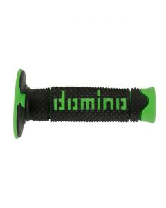 Domino Soft MX Grips - Black /Green