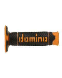 Domino Soft MX Grips - Black /Orange