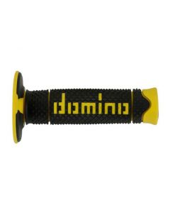 Domino Soft MX Grips - Black /Yellow
