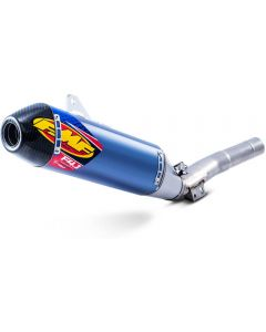 FMF Factory - 4.1 RCT Anodized Titanium Silencer With Carbon End Cap YAMAHA WR /YZ450F 14-18