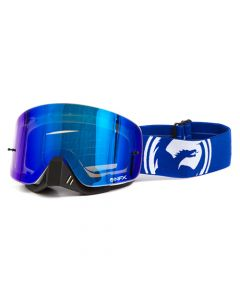 NFXS Blue/White Split - Blue Ion Goggles