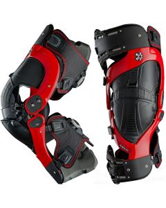 Asterisk Ultra Cell BOA Red Knee Brace Pair
