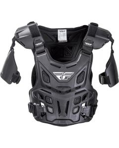 Fly Racing Revel Black Offroad Roost Guard