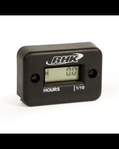 RHK Black Hour Meter - Includes Free Mounting Bracket