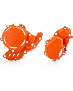Acerbis X-power Kit EXCF FE 250 350 17-20 Orange